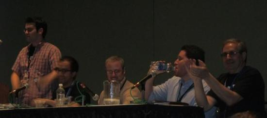 C2E2 2012 Valiant Panel