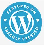 "WordPress ""Freshly Pressed"" badge"