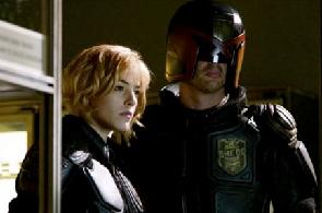 "Karl Urban IS Judge Dredd IN ""Dredd"""