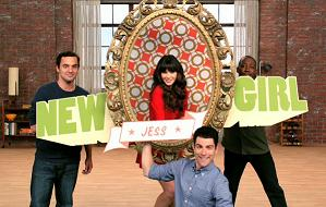 "Zooey Deschanel, ""New Girl"", Fox sitcom"