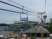 """June 23rd: The view from the Skyride at Indiana Beach -- the real McCoy, not the defunct post-apocalyptic version seen on TV's """"Revolution""""."""