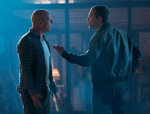 Bruce Willis, Jai Courtney, A Good Day to Die Hard