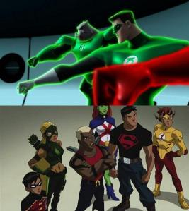 Green Lantern, Young Justice, canceled