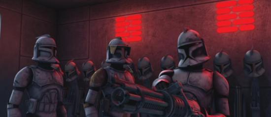 Star Wars: the Clone Wars Clonetrooper Gatling laser
