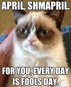 Grumpy Cat, April Fools Day