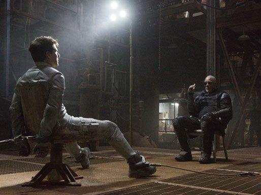 Tom Cruise, Morgan Freeman, Oblivion