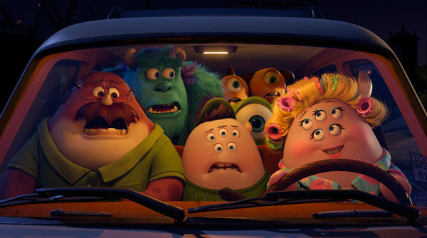 Monsters University, Disney, Pixar