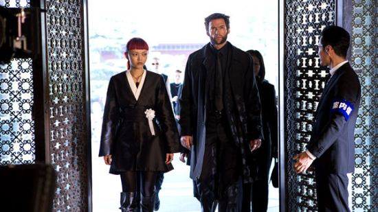 Hugh Jackman, Rila Fukushima, The Wolverine