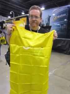free yellow cape
