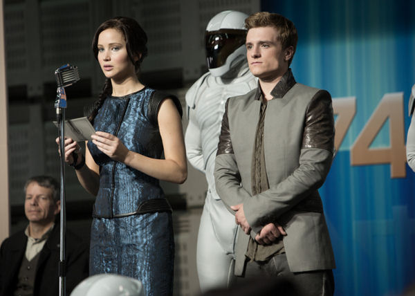 Jennifer Lawrence, Josh Hutcherson, Hunger Games: Catching Fire