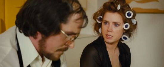Christian Bale, Amy Adams, American Hustle