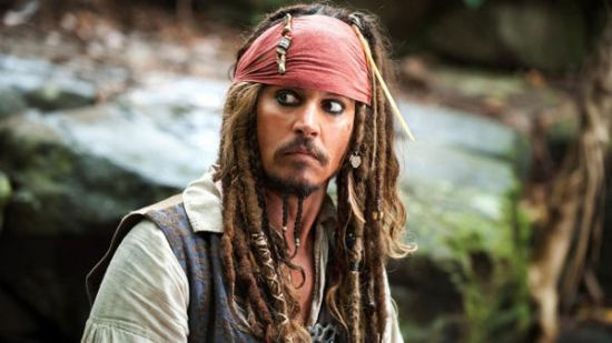Captain Jack Sparrow, Johnny Depp