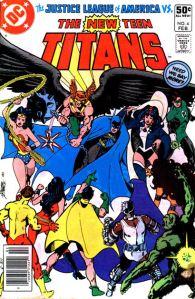 George Perez, New Teen Titans 4, February 1981, DC Comics