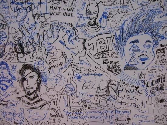 C2E2 2014 whiteboards