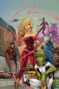 Kenneth Rocafort, Teen Titans #1
