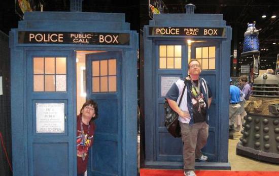TARDIS exit