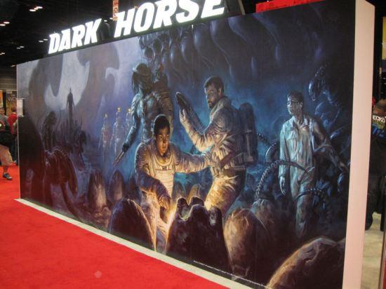 Dark Horse booth