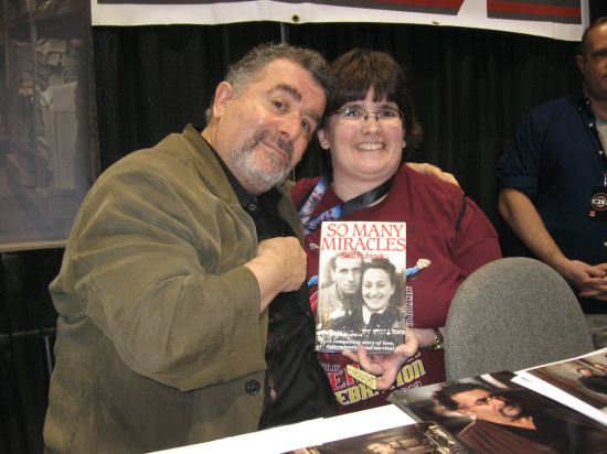 My wife meets Saul Rubinek!