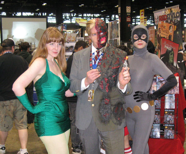 Two-Face plus one companion for each side.