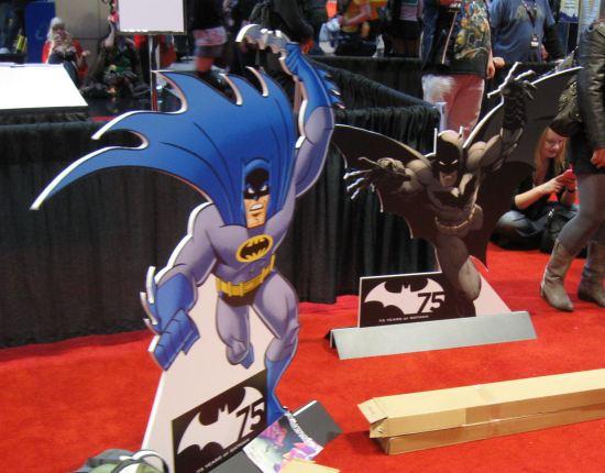 Cardboard Batmen