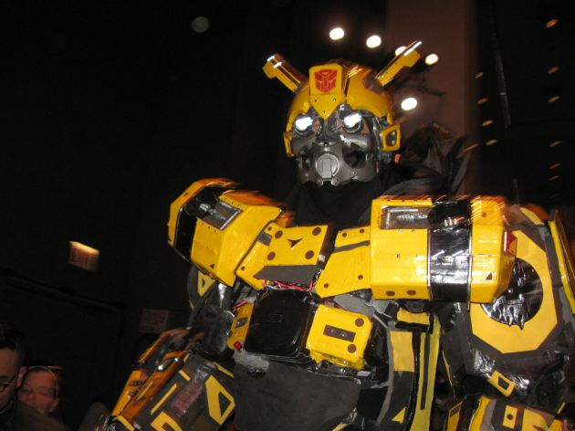 Bumblebee WILL CRUSH YOU.