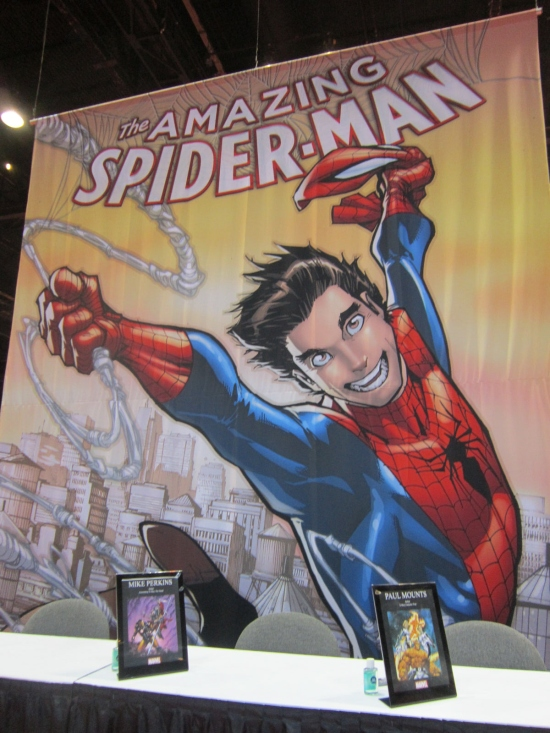 Marvel Comics booth