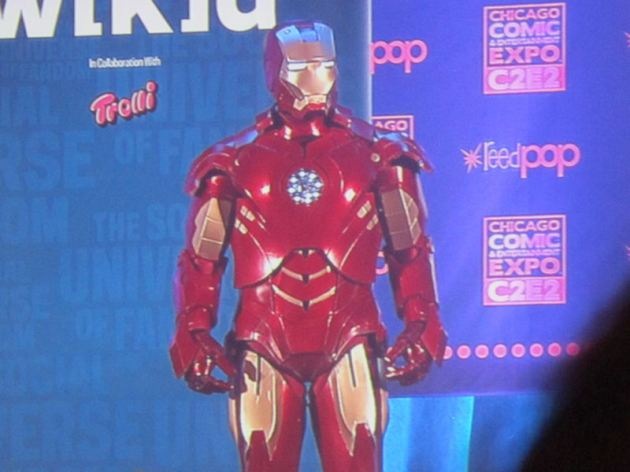 Iron Man, the Armored Avenger!