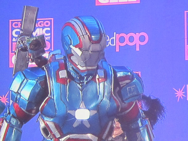 Iron Patriot: proud to be an American!