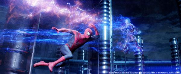 Pow! Zap! CG Spider-Man vs. CG Electro!