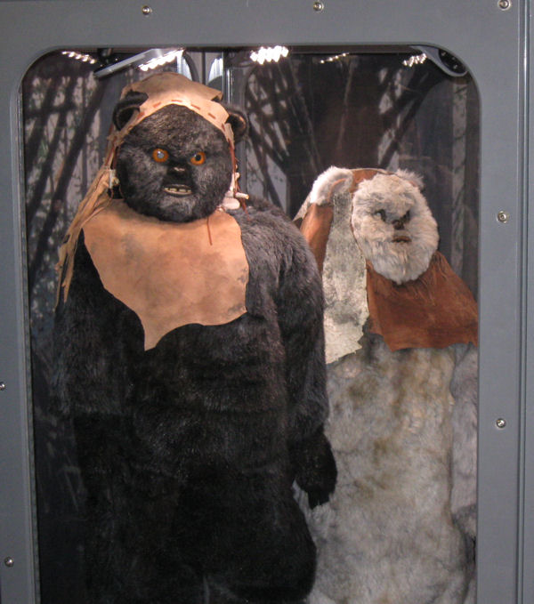 The Ewoks gaze also INTO YOU.