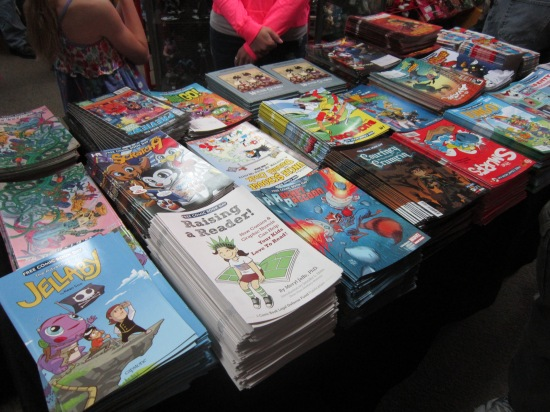 Free Comic Book Day 2014 for Kids!