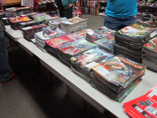 Free Comics Book Day 2014 comics!