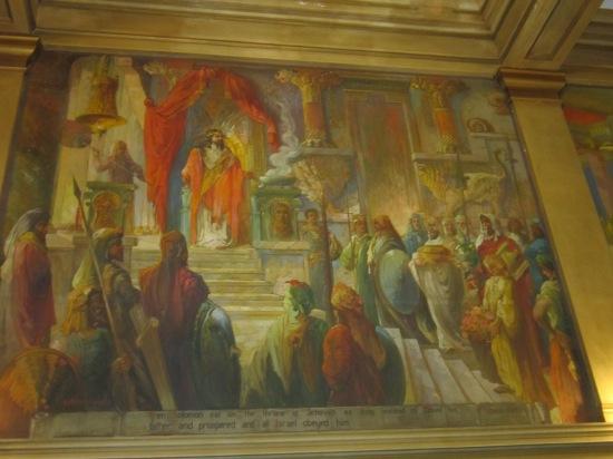 King Solomon painting