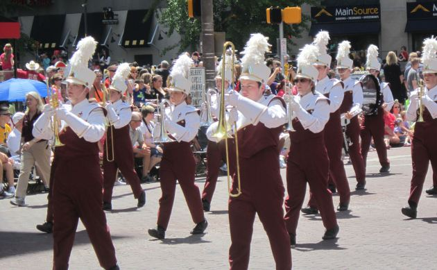 Concordia Lutheran Marching Cadets!
