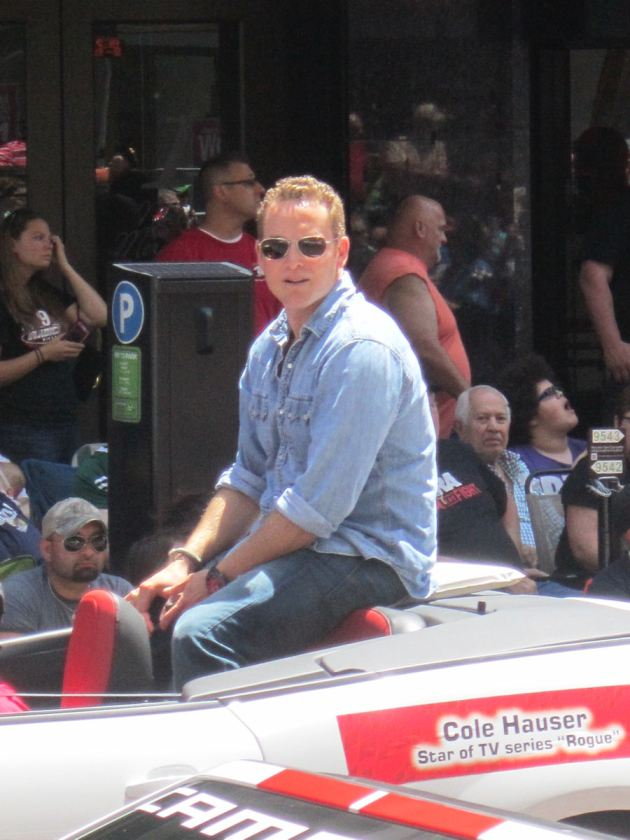 Cole Hauser! How 'bout THEM apples!