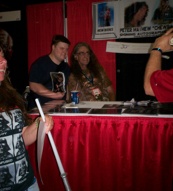 The Real Peter Mayhew, a.k.a. Chewbacca!