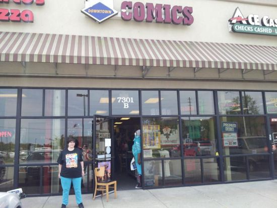 Downtown Comics West!