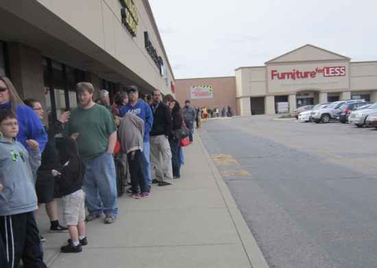 The Free Comic Book Day 2014 line behind us.