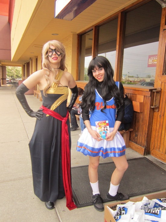 Ms. Marvel and Veronica!