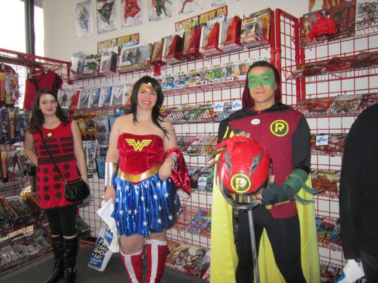 Wonder Woman! Robin! Dalek!