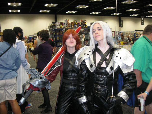 Sephiroth and Genesis!