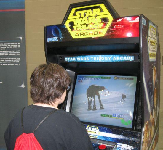 Star Wars Trilogy Arcade!
