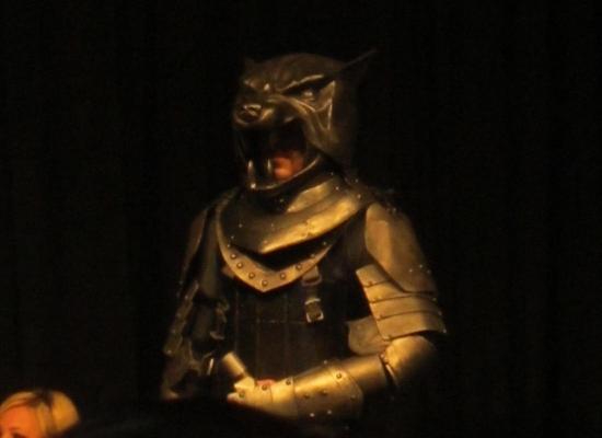 Sandor Clegane, a.k.a. The Hound!
