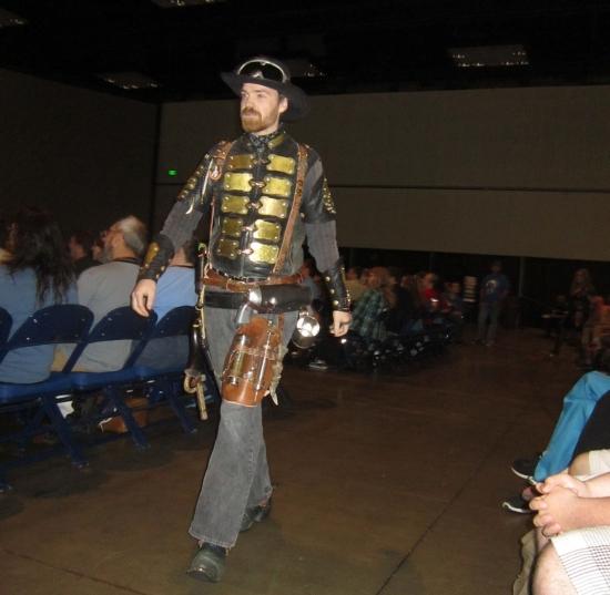 Steampunk Chuck Norris!