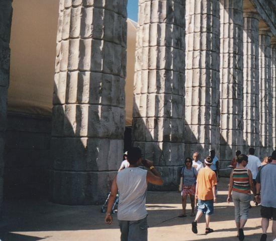 Columns of Olympus