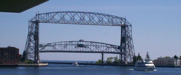 the Aerial Lift Bridge!