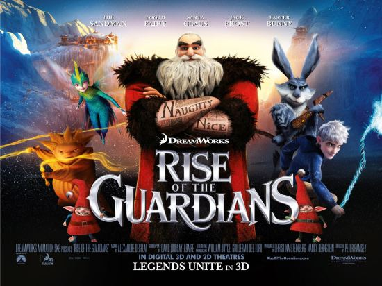 Rise of the Guardians!
