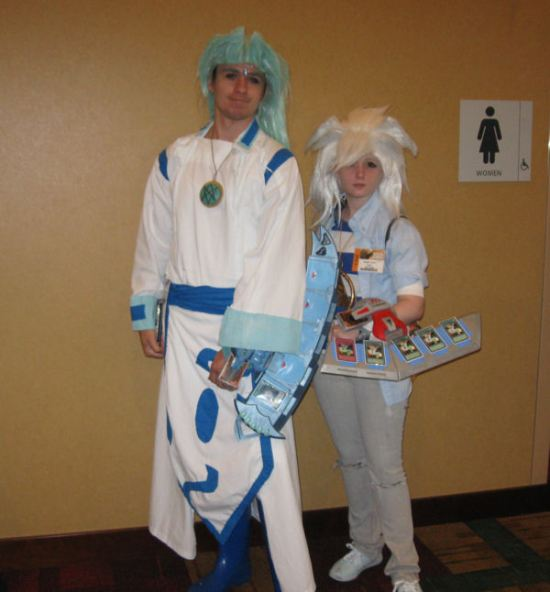 Dartz and Bakura!