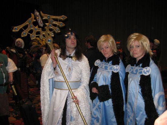 King Ashura! Fay! Yuui!