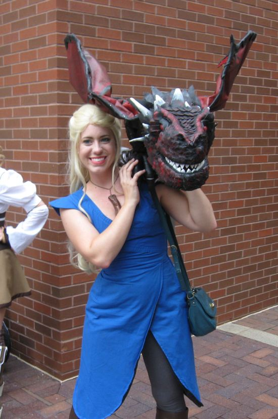 Daenerys and Drogon!